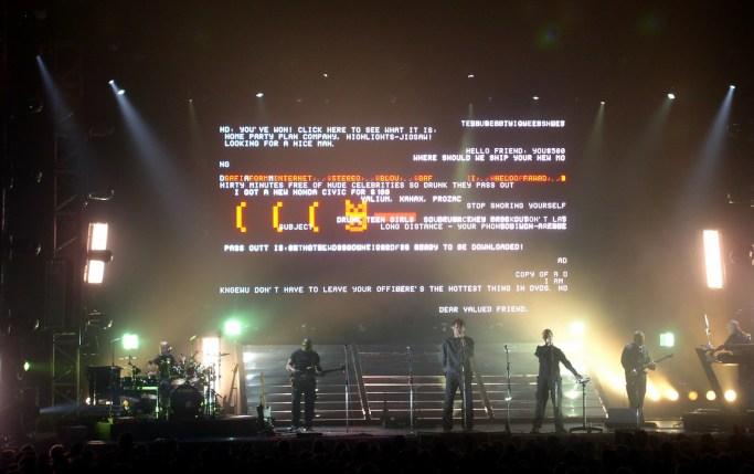 Massive Attack, Paris 2003
