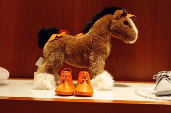 Hermès stuffed horse