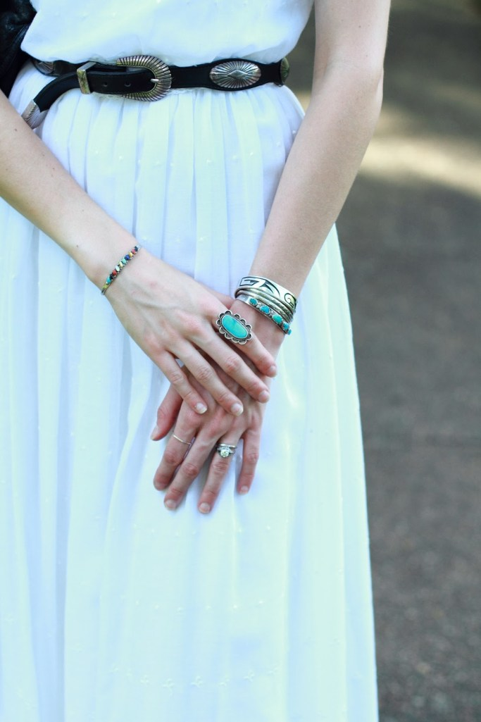silver turquoise rings and bracelets