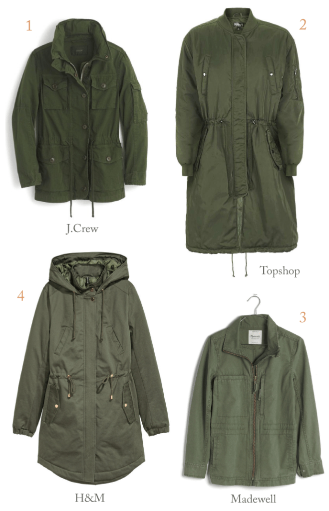 fall essentials: anoraks