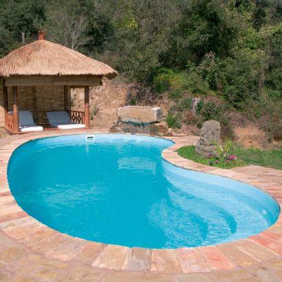 piscine coque polyester haricot graf 65 75