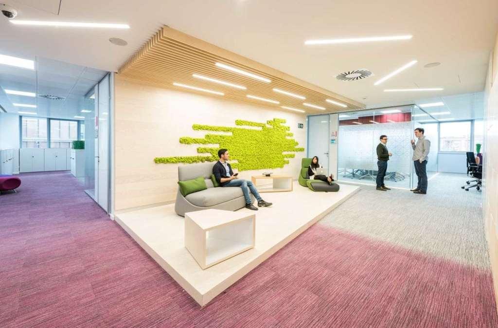 Oficinas de Roche en Madrid, proyecto de 3gOffice Francisco Vázquez