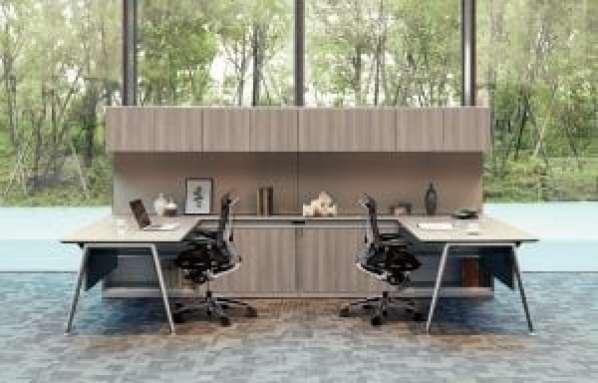 Okamura_Contessa Seconda, Workplace section at 100% Design 2017 4