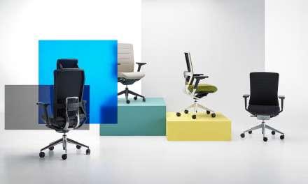 La silla TNK Flex de Actiu,  premiada con el German Design Award