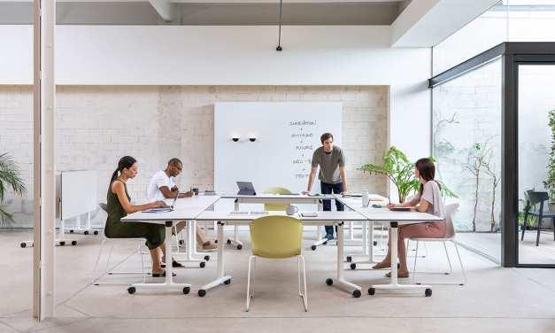 Mesas Talent de Actiu, para espacios polivalentes