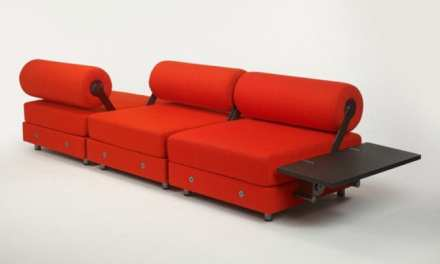 Todo Modo, sofá de espera de Tecno