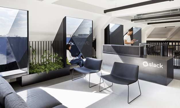 Oficinas Slack London, de Odos Architects