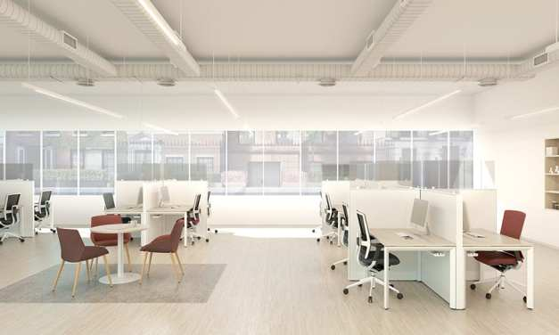 Actiu diseña mamparas de protección para garantizar la seguridad en comercios y oficinas