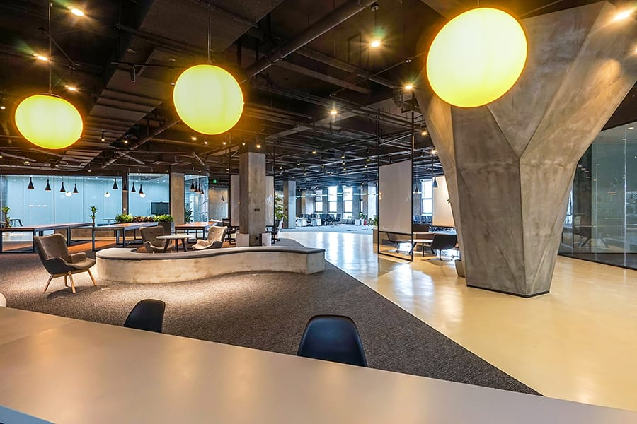 Byton Nanjing Office inDeco