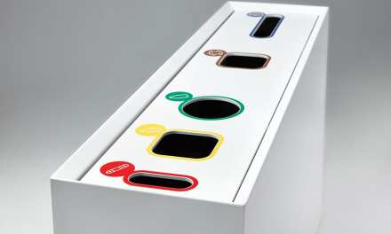 Zell, papelera de reciclaje diseño de Ribaudí para Made Design