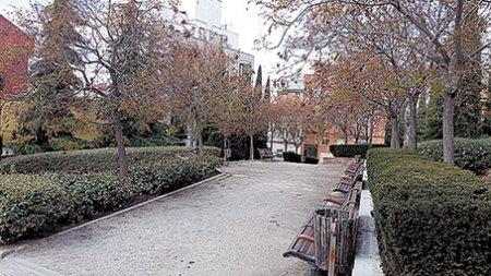 Un jardín en Valdeacederas para Luis Javier Benavides