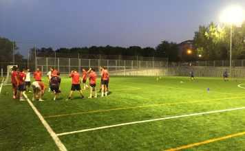 Racing Los Rosales estrena campo de fútbol