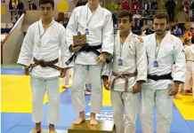 Héctor Blanco, campeón de Judo