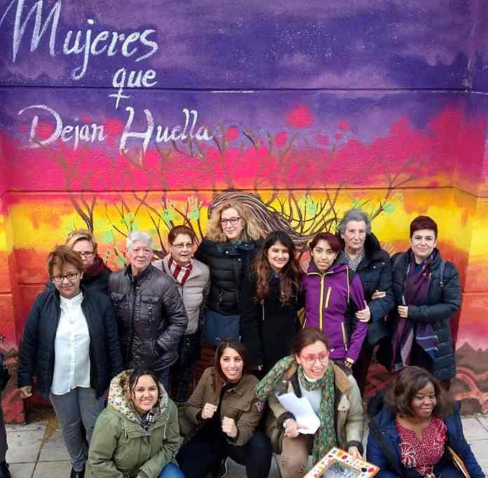 Mural Mujeres que dejan huella - San Cristóbal