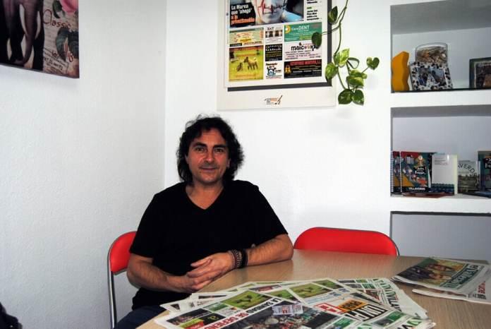Javier Cuenca presidente de La Incolora