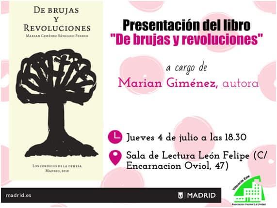 Presentación de poemario María Giménez