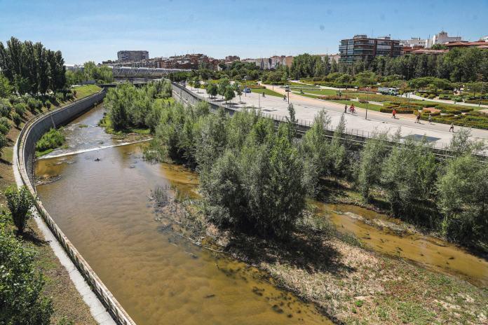 El Manzanares es, a su paso por Madrid, un corredor ecológico en plena ciudad. Prensa Ayto.