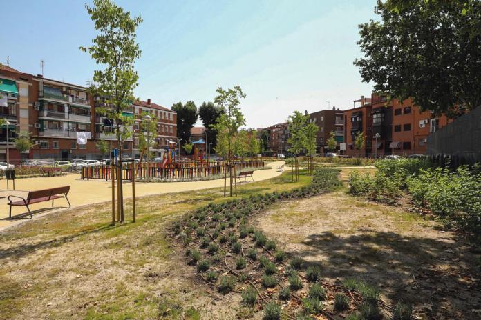 Un nuevo jardín que llena de luz al Distrito
