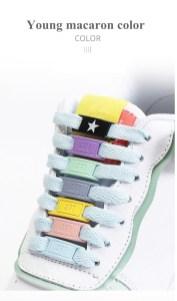 Hebillas personalizadas para los cordones de tus zapatillas 6
