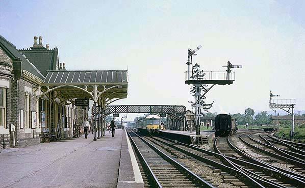Disused Stations Ashchurch Station