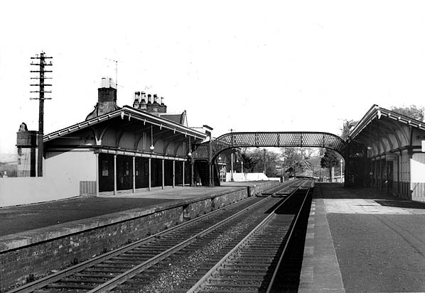 Disused Stations Melrose Station