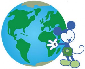 Mickey has the Environmentality.