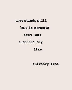 Verwonderen over het alledaagse leven