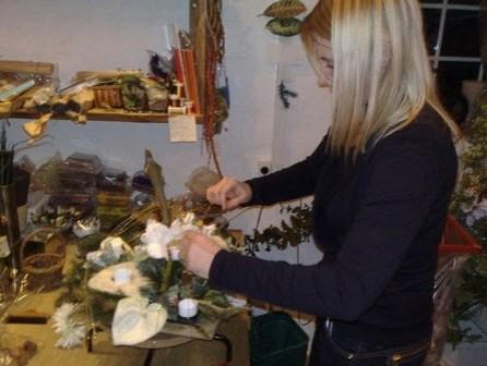 juledekorationer silkegroent