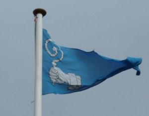 Flaget er hejst