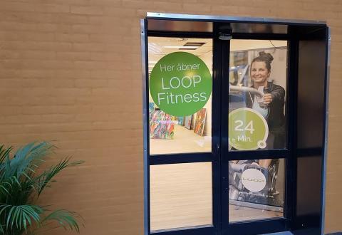 LOOP Fitness åbner snart. Foto: LOOP Fitness.