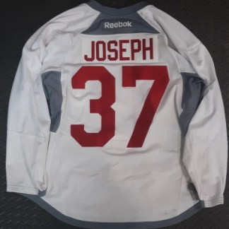 pierre-olivier joseph 37 jersey signed game worn
