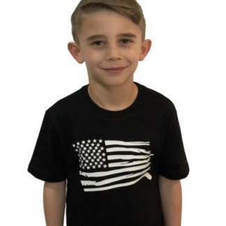 USA TRI Blend Youth shirt