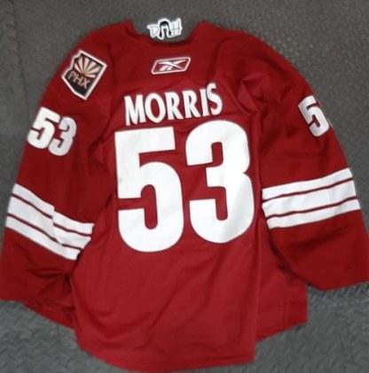 Derek Morris Game Jersey