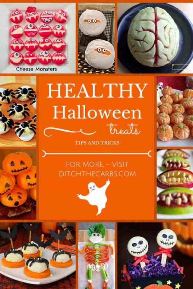 Healthy Halloween Treats | ditchthecarbs.com