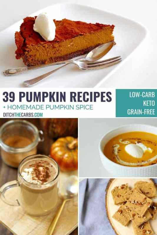 39 BEST LOW-CARB AND KETO PUMPKIN RECIPES