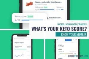What is a keto score
