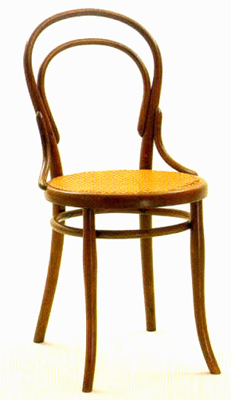 thonets innovative no. 14 chair
