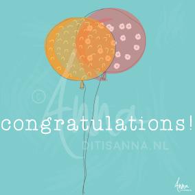 ecard, feliciteren, gefeliciteerd met je verjaardag