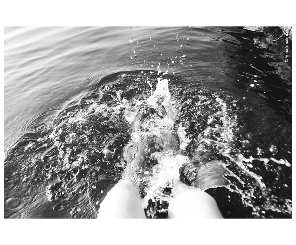 zomer,water