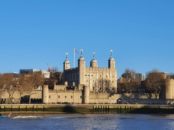 Tower of London winter