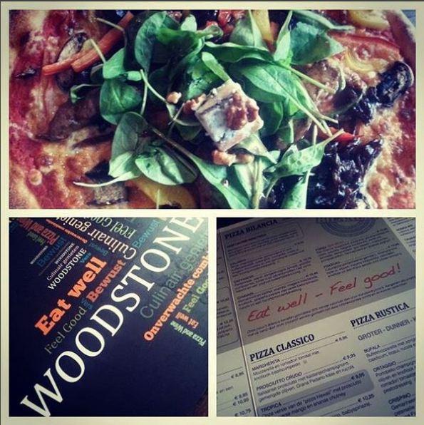 Eigenlijk zou ik ook absoluut nog wel een keertje bij Woodstone een heerlijke pizza eten!