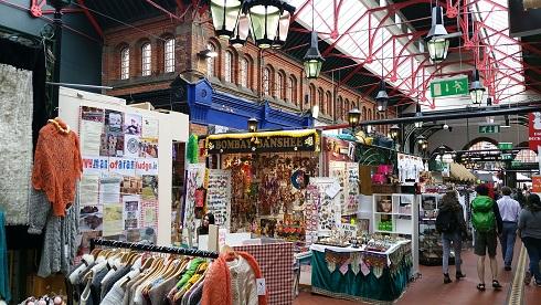 Georges Street Arcade Dublin
