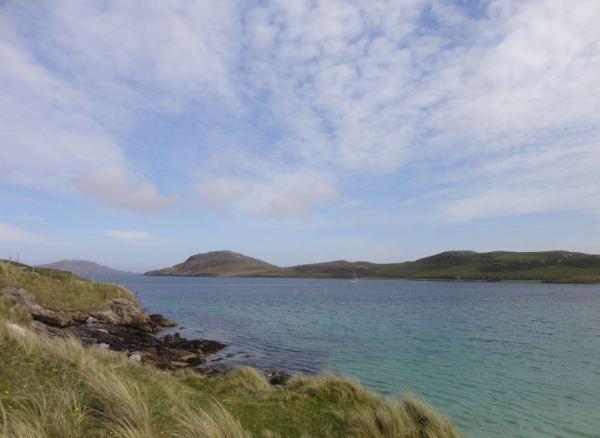 Outer Hebriden Buiten de gebaande paden