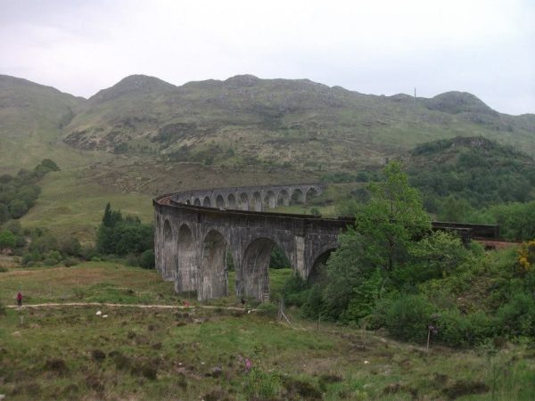 Het prachtige viaduct van Glenfinnan.