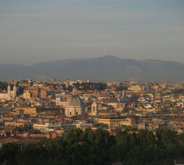 Rome Passeggiata del Gianicolo