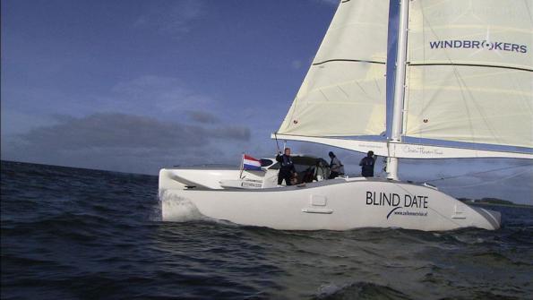 Onze innovatieve catamaran 'Compaen' kan dit jaar nog sponsors gebruiken!