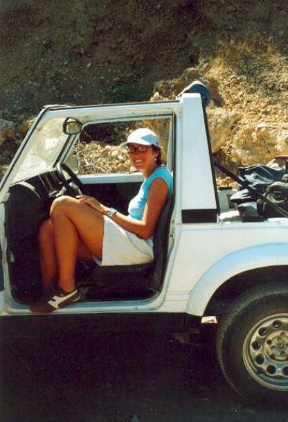Een héle oude foto uit het archief: de jeepsafari in Turkije (2006)