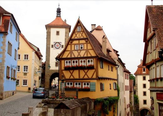 Rothenburg centrum