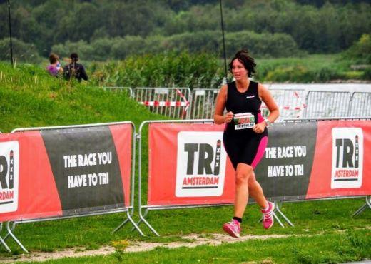 Ouderkerkerplas 2018 eerste triathlon