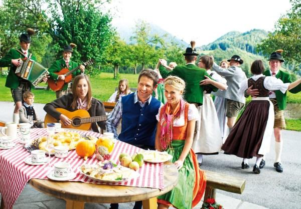 Salzburgerland Bauernherbst